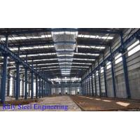 Buy cheap Heavy Industrial Steel Structure Workshop Buildings With Ventilation Clerestory from wholesalers