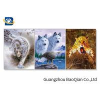 Wholesale Stunning Animal Lenticular Flip / Amazing Naked 3D Lenticular Photography from china suppliers