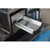 Wholesale 0.5-1.2MM Shutter Roll Forming Machine with Continuity punch Punching 56mm Shaft from china suppliers