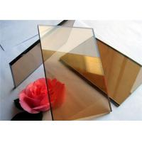 Buy cheap 2 mm - 19mm Thickness Color Coated Glass Flat Structure For Industrial Buildings from wholesalers