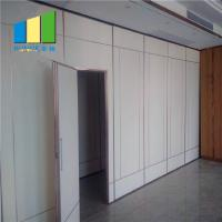 Buy cheap Hanging System Office Operable Movable Wall Temporary Sound Proof Partitions Philippines from wholesalers