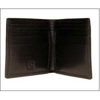 checked ladies leather wallet