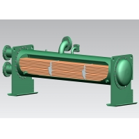 Buy cheap ABS Baffles 18KW Copper Tube Dry Heat Exchanger from wholesalers