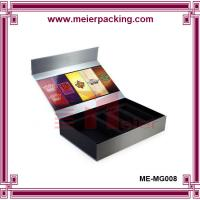 Buy cheap Reliable China mainland factory promotional magnetic paper box packaging with EVA foam from wholesalers