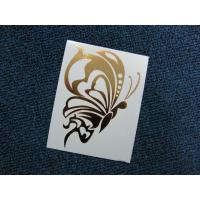 Buy cheap Temporary Pure Gold Butterfly Printing Tattoos from wholesalers