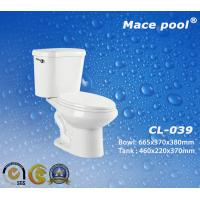 Buy cheap S-Trap Two-Piece Toilets Sanitary Wares for Bathroom (CL-039) from wholesalers