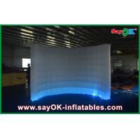 Buy cheap Mini Led Inflatable Paint Photo Booth Tent For Wedding Decoration from wholesalers