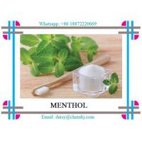 Wholesale Pharmaceutical Grade Natural Botanical Extracts Colorless Crystals Menthol CAS 15356-70-4 from china suppliers