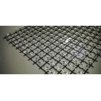 Buy cheap Lock Crimped Vibrating Woven Wire Screen Flat Panel High Loading Capacity from wholesalers