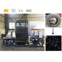 Buy cheap Fully Automatic Scrap Rubber Tires Recycling Machine Easy Maintenance from wholesalers