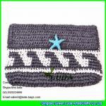 Buy cheap LUDA fashion 2016 handicraft handbag paper straw crochet clutch bag from wholesalers