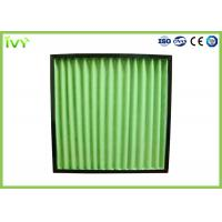Wholesale G4 Pleated Primary Air Filter 3400 M³/H Max Air Flow Volume With ABS Plastic Frame from china suppliers