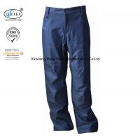 Buy cheap Arc Flash Protective Men's Fr Cargo Work Pants / Fireproof Trousers Denim Dungaree from wholesalers