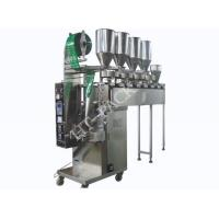 Stainless Steel Tea Packaging Machine For Coffee , Automatic Granule Packing Machine Manufactures