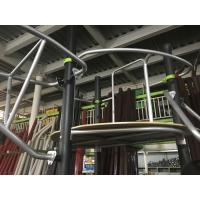 Buy cheap Outdoor Play Equipment For Kids / Playground Climbing Equipment With Link Climber , Challenging Game product