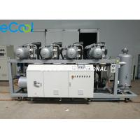 Buy cheap 240HP Refrigeration Compressor Unit , High Temperature Refrigerating Compressor For Vegetables Cold Room from wholesalers
