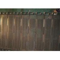 Buy cheap Robust Chain Mesh Conveyor Belt , Stainless Steel Mesh Belt Easily Cleaned And Recycled from wholesalers