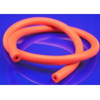 Buy cheap Ultraviolet Resistance Silicone Sponge Tubing , Red Rubber Foam Insulation Tube from wholesalers