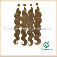 Buy cheap Indian virgin hair weave hair extension 8# color body wave hair 10''-26'' hair extension from wholesalers