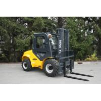 Buy cheap BENE cross-country forklift 3.5 ton rough terrain forklift truck with 3500mm duplex mast from wholesalers