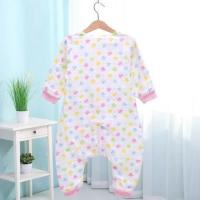 Buy cheap Spring Summer Muslin Baby Pajamas , Organic Newborn Pajamas Cute Printed from wholesalers