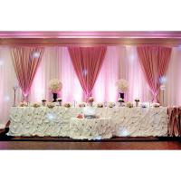 Buy cheap Christmas Wedding Backdrop Backdrop Ceiling Drape Fabric Square Pipe Railing from wholesalers