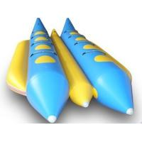 China Double Persons Commercial grade small  banana boat durable with PVC Bottoms on sale