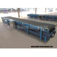 Buy cheap High Performance Mobile Telescopic Belt Conveyor with Hydraulic Lift For Bags Basket And Cartons from wholesalers