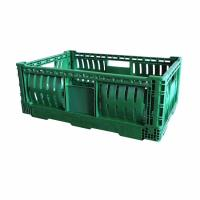 Buy cheap Fold Storage Baskets Ventilated Plastic Stacking Crates With Customer Logo from wholesalers