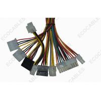China Universal 6 Pin Electric Wire Harness 20AWG Coaxial Cable Assembly For Power Supply on sale