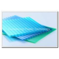 Buy cheap Twin Walled Polycarbonate Hollow Sheet Polycarbonate Sheeting For Greenhouses from wholesalers
