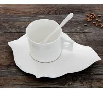 Buy cheap Certifiction 3512 bone china coffee diamond heating plate ash 45% hot plates for coffee mug from wholesalers