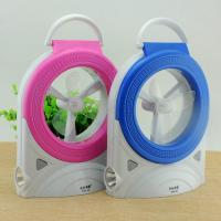 Lightweight  LED Rechargeable Fan With LED Light / Search Light Manufactures