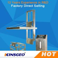 Buy cheap AC380V±10% 50Hz Electric Durable Package Testing Equipment , Incline Impact Strength Tester product