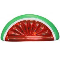 Buy cheap Eco-Friendly Red / Green Watermelon Pool Float Swimming Pool Toys 180cm*90cm from wholesalers