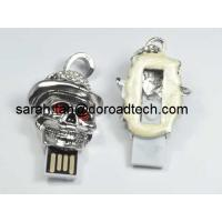 Buy cheap Cool Masking Jewelry USB Flash Drives, 100% Original Real Capacity USB Memory Sticks from wholesalers