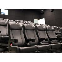 Wholesale Attractive Cinema 4D Cinema System, 4D Theater with Pneumatic/Hydraulic/Electric Motion Chair from china suppliers