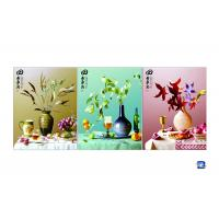 Wholesale 3D 30x40cm Triple Transition Flower Wall Poster 3 Images For Restaurant from china suppliers