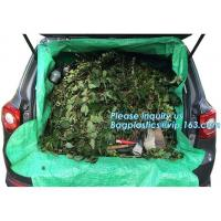 Buy cheap customized waterproof green pe car protector,environmental firendly, car boot liner, reusable, durable,economical,sample from wholesalers