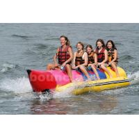 Buy cheap Inflatable Banana Boat For 5 Persons , Inflatable Towable Water Tube from wholesalers
