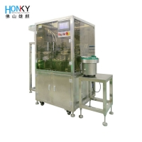 Buy cheap Essential 40 BPM Automatic Bottle Filling Machine Lotion Bottle Filler from wholesalers