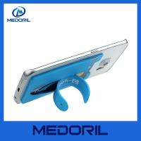 Factory wholesale Eco-friendly silicone phone holder 3m sticker smart wallet