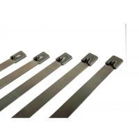 Buy cheap Strong Steel Stainless Steel Cable Ties Straps For Cable Wiring Prompt Delivery from wholesalers