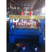 Custom-made Floor Deck Roll Forming Machine, Decking Sheet Roll Former Manufactures