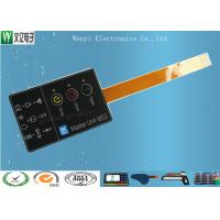 Wholesale 3 Keys FPC Membrane Switch Keypad / Embossing Custom Membrane Switches from china suppliers