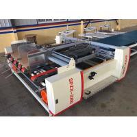 Buy cheap Corrugated Paperboard Folder Gluer Machine / Carton Box Making Machine product