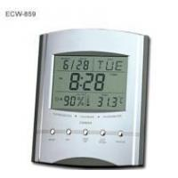 Buy cheap Jumbo LCD Calendar Clock with Thermometer & Hygrometer from wholesalers