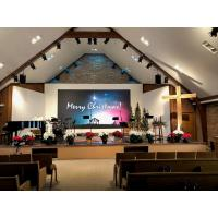Buy cheap High Definition 3.9mm Church LED Screen , Slim Large LED Display Indoor Solution from wholesalers