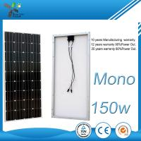 Buy cheap Photovoltaic Monocrystalline Solar Panel , 170W Flexible PV Module For Greenhouse from wholesalers