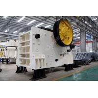 Buy cheap JC 340 Mining Jaw Crusher Machine  High Flexibility Low Energy Consumption from wholesalers